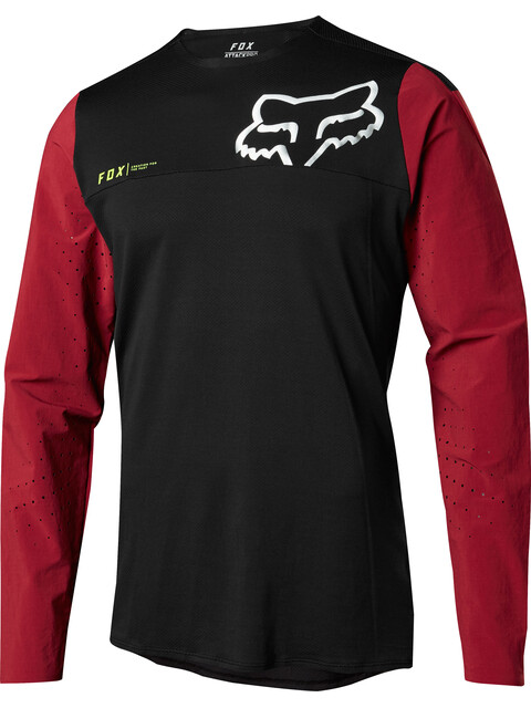 Fox Attack Pro Long Sleeve Jersey Men red/black